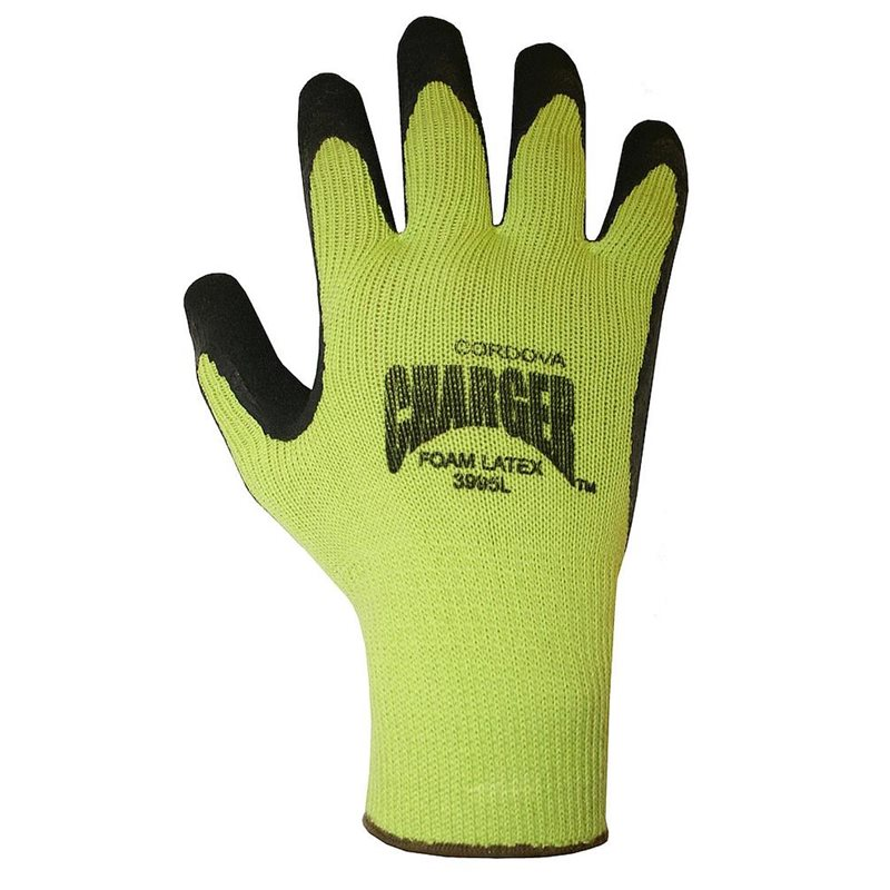 HiVis Coated Palm Gloves