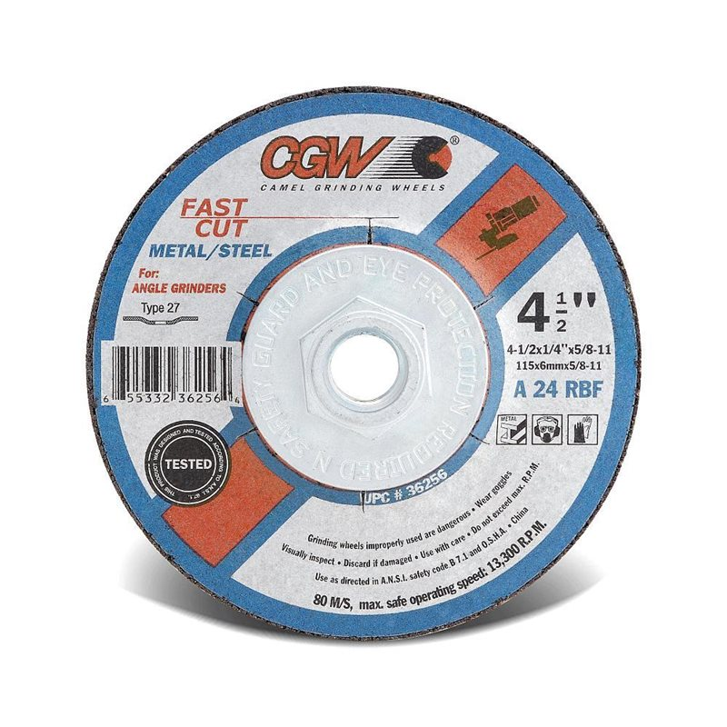 """Grinding Wheels 1/4"""" Thick"""