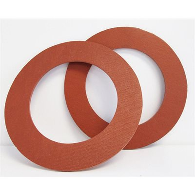 """2"""" Ring Gasket Rubber 1 / 8"""" Thick (25)"""