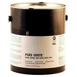 AntiSeize Pure White Compound 8lb Tube w / PTFE 475°F Food Grade USDA & FDA Approved (4)