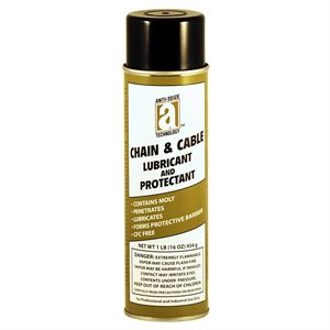 Lube Chain & Cable 20oz Aerosol Can(16ozNetWt) Foaming Lube w / Molybdenum (12)