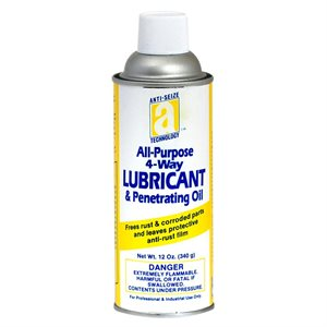 Lube All–Purpose 4-way 12oz Aerosol Can Penetrating & Lubricant Oil (12)