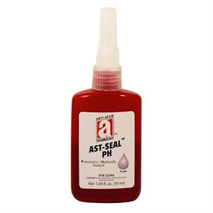 AST-Seal Purple 545 Anaerobic Pneumatic / Hydraulic Thread Sealant 50ml Bottle (6)