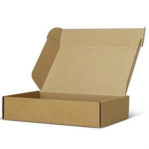 "Corragated Box ECCO Fold 12""x 12""x 1-1 / 2"" Brown (750)"