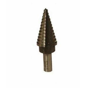"1 / 8""- 1 / 2"" 6 Step Drill Bit (Increments Every 1 / 32) (6) Min.(1)"