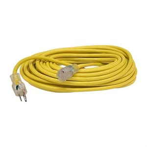 Extension Cord Round 50' 12 gauge 3 wire Lited Ends UL Listed