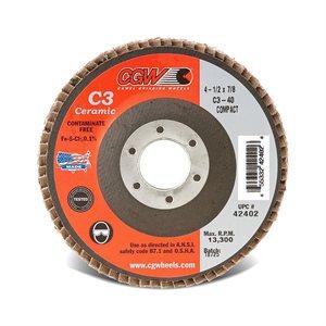 FLD Ceramic Grain Flap Disc Type 27