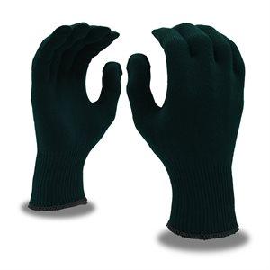 Winter Liner Gloves Acrylic Spandex Black (12) Min.(1)