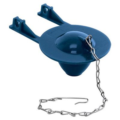 Toilet Tank Flapper Blue PVC Pro series (100) Min. (10)