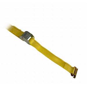 "2""x 12' Yellow Strap Cam E Fittings (10) Min.(5)"