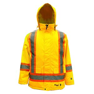 Viking Parka Insulated Lime 6450