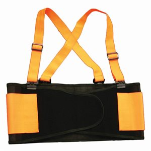 Back Support Belt Hi-Vis Orange