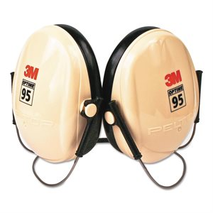 Muffs Hearing Protection 21db Low Profile Neck Band PELTOR H6BV 95 (10)