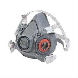 3M Half Facepiece 6000 Series Medium Respirator (24) Min. (1)