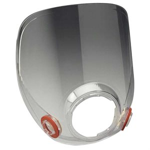 3M Respirator 6000 Series Lens Assembly Clear Replacement Part (5) Min. (1)