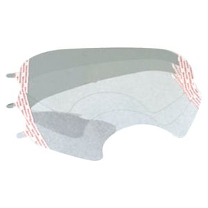 3M Face Shield Cover 25 Pack Peel off Sheets 6800 Series (4) Min. (1)