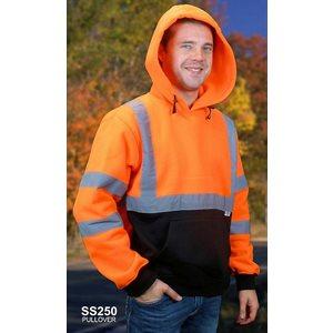 Jacket Hoodie HiVis 250