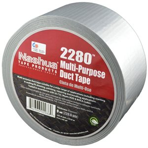 "Grey 2""x 60yd 9mil Duct Tape Nashua 2280 (648)"