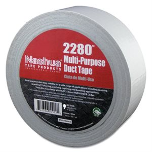 "White 2""x 60yd 9mil Duct Tape Nashua 2280 (36)"