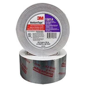 "Aluminum Foil 2-1 / 2""x 60yd 2mil Tape Printed UL-181A 3M 1581A (20)"