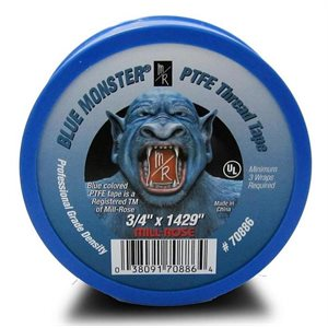 "1 / 2""x 1429 Blue Monster Thread Seal Tape (270) Min.(45)"