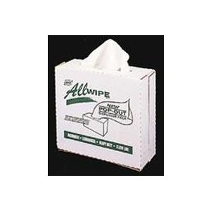 Allwipe Towels White 90ct Pop Out Box